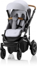 Britax Römer SMILE III Space Black COMFORT PLUS iSENSE STAY COOL BUNDLE (incl. Stroller, carrycot, BABY-SAFE iSENSE Smile Frost Grey, Base)