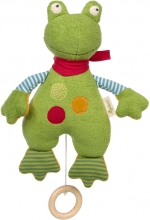 Sigikid Musical toy Frog Green Collection
