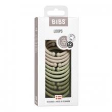 BIBS Loops vanilla/sage/olive