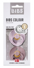 BIBS Pacifier natural rubber dusky lilac/heather 6-18 month
