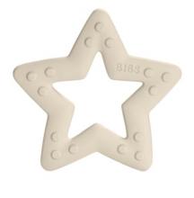BIBS Baby Bitie ivory star