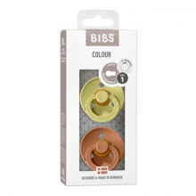 BIBS Pacifier natural rubber meadow/earth 6-18 month