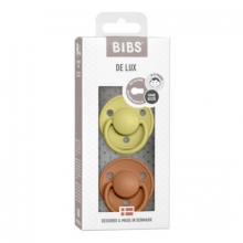 BIBS de lux pacifier silicone meadow/earth 0-36 month