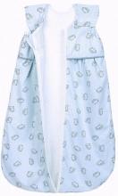 Odenwälder Jersey Sleeping bag Anni light 80 cm Hedgehogs grey