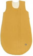 Odenwälder Musselin Sommer-Schlafsack 80 cm mustard