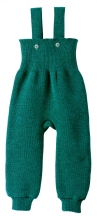 Disana knitted trousers 74/80 pacific