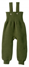 Disana knitted trousers 74/80 olive