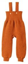 Disana knitted trousers 74/80 orange