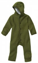 Disana boiled wool overall 62/68 olive