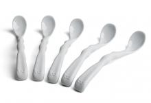 Herobility Eco Feeding spoon 5pack mist grey