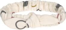 Lässig Headband GOTS 4-12 months Circles off-white