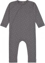 Lässig Pyjamas GOTS 74/80 Spots anthracite