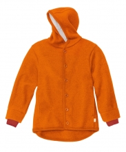 Disana boiled wool jacket 74/80 orange