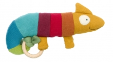 Sigikid 39354 Knitted grasping toy Chameleon