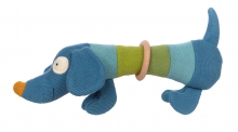 Sigikid 39376 Knitted grasping toy dog