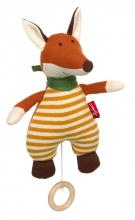 Sigikid 39487 Knitted musical toy Fox