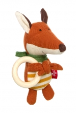 Sigikid 39488 Knitted grasping toy Fox