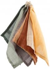 Sebra Wash cloth mixed colours (7 pcs.)
