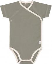 Lässig Short Sleeve Body GOTS 2pcs. 50/56 powder pink/olive