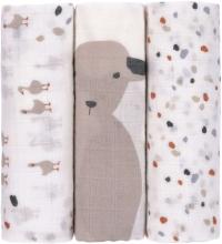 Lässig Swaddle 3pcs. 80x80cm Tiny Farmer Speckles