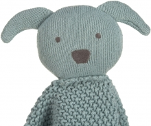 Lässig Knitted Baby Comforter Little Chums Dog