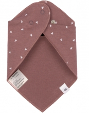 Lässig Banada 2pcs Set Dots powder pink/Triangle cinnamon