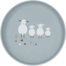 Lässig Plate PP/Cellulose Tiny Farmer Sheep
