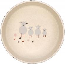 Lässig Bowl PP/Cellulose Tiny Farmer Sheep nature