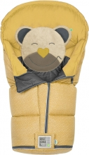 Odenwälder Sleeping bag Mucki L Fashion coll. 21/22 modern graphic mustard