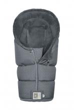 Odenwälder footmuff LO-GO Fashion coll. 21/22 modern graphic grey