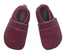 Anna and Paul leather toddler Uni plum size M-20/21