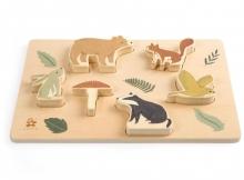 Sebra Chunky wooden puzzle Nightfall