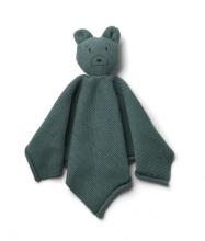 Liewood Milo Cuddle cloth Mr Bear whale blue