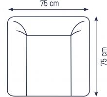 Zöllner Changing mat Softy Penguine 75x75 cm