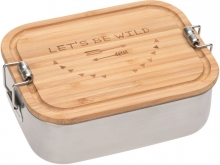Lässig Lunchbox Stainless Steel Bamboo Adventure