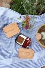 Lässig Lunchbox Stainless Steel Bamboo Garden Explorer
