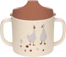 Lässig Sippy Cup PP/Cellulose Tiny Farmer Sheep/Goose