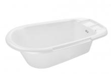 Rotho bathtub Bella Bambina white