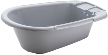 Rotho bathtub Bella Bambina stone grey