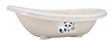 Rotho Bio bathtub panda organic white