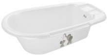 Rotho bathtub Bella Bambina white modern elephants