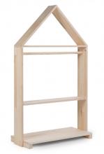 Childhome Schrank Offenes Haus inkl. Räder 80x135cm