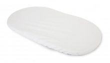 Childhome Waterproof mattress cover for Moses basket white 80x40cm