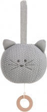 Lässig Knitted Musical Toy Little Chums Cat Brahms Lullaby