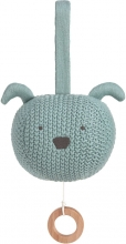 Lässig Knitted Musical Toy Little Chums Dog Brahms Lullaby