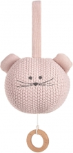 Lässig Knitted Musical Toy Little Chums Mouse Brahms Lullaby