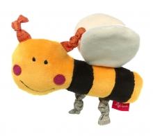 Sigikid Squeaking Toy Bee RedStars