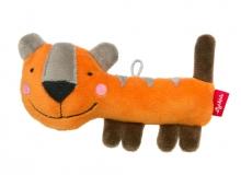 Sigikid Squeaking Toy Tiger RedStars
