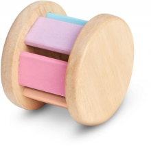 PlanToys Wooden toy Baby car pastel