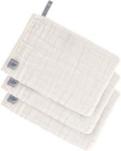 Lässig Muslin washcloth 3pcs. milky